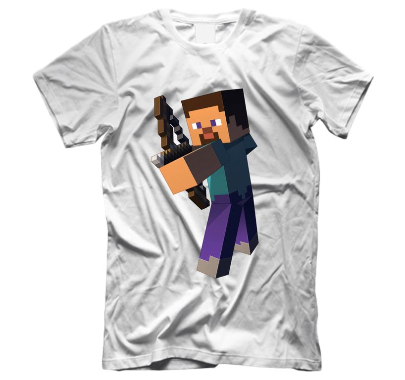озон футболки с майнкрафт #2