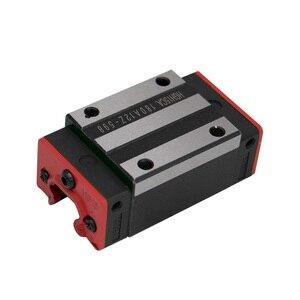 Image 5 - 4pc HGH20CA HGH15CA 선형 좁은 캐리지 슬라이딩 매치 사용 HIWIN HGR20/15 선형 레일 용 선형 가이드 CNC diy 부품