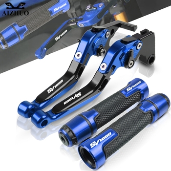 Motorcycle Brakes Clutch Levers Handle Grips End For SUZUKI SV1000 SV 1000S SV 1000 S SV1000 S 2003 2004 2005 2006 2007