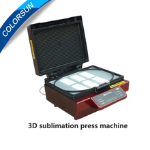 Hot sell 3D Sublimation Heat Press Printer 3D Vacuum Heat Press Printer Machine Printing for Cases