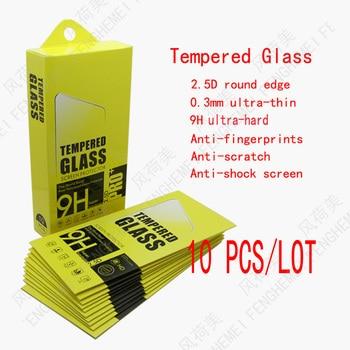 10 ピース/ロットfenghemei強化ガラスlg K12 最大K20 プラスK30 K40 k40S K41S K50 K50S K51 K51S K61 ベルベットスクリーンプロテクターフィルム