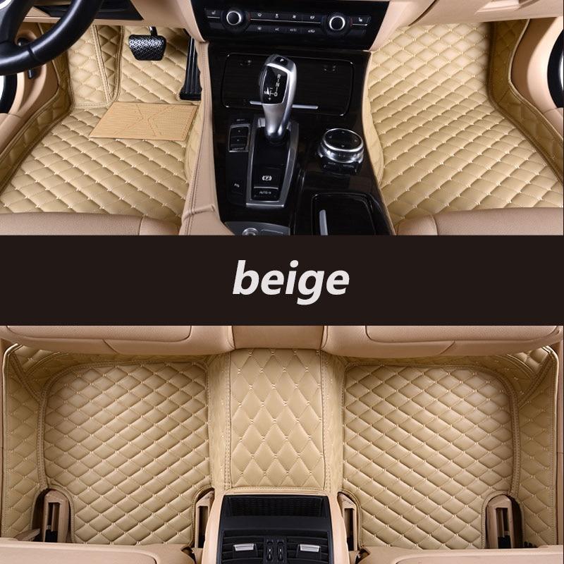 HLFNTF Custom car floor mats for Volkswagen vw polo passat b5 6 golf tiguan jetta touran touareg car stylingcar car accessorie