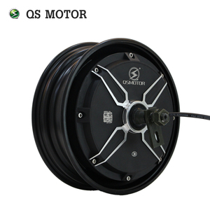Image 1 - QSMOTOR 10inch 3000w 205 V3 dc brushless scooter hub motor 48v to 96v in High power quality with CE