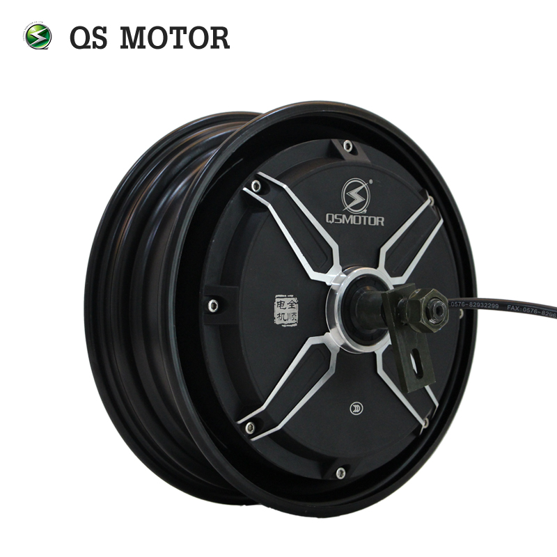 QSMOTOR 10inch 3000w 205 V3 <font><b>dc</b></font> brushless scooter hub <font><b>motor</b></font> 48v to <font><b>96v</b></font> in High power quality with CE image