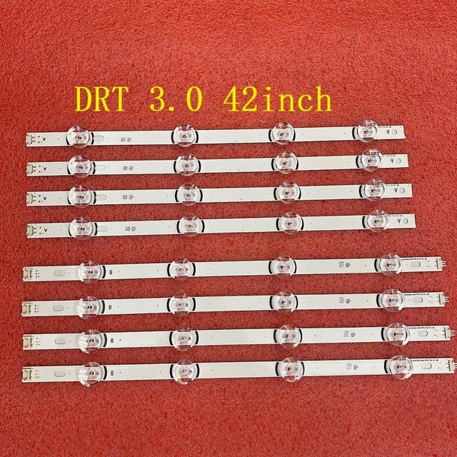 8ピース/セットledバックライトストリップlg 42LB5610 42LF561V 42LB580U 42LB563U 42LB653V 42LB652V 42LB631V 42LB630V 42LB629V 42LB552U