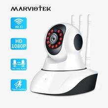 720P 1080Pกล้องIP Wifi Night Visionวิดีโอกล้องวงจรปิดSecurity PlugและPlay PTZการติดตามอัตโนมัติกล้องIP WIFI IR
