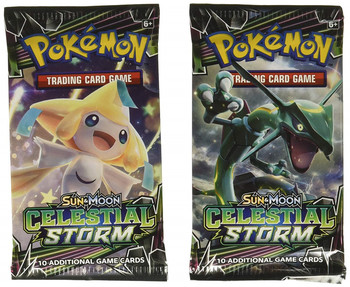 324 Cards Pokemon TCG: Sun & Moon Celestial Storm 36-Pack Booster Box Trading Card Game Kids Collection Toys 2
