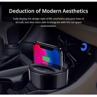 For Samsung S9 S8 Note10 9 Qi Wireless Charging Fast Wireless Car Charger Cup USB Car Cup for iPhone XsMax/Xr/8plus 10W Univers
