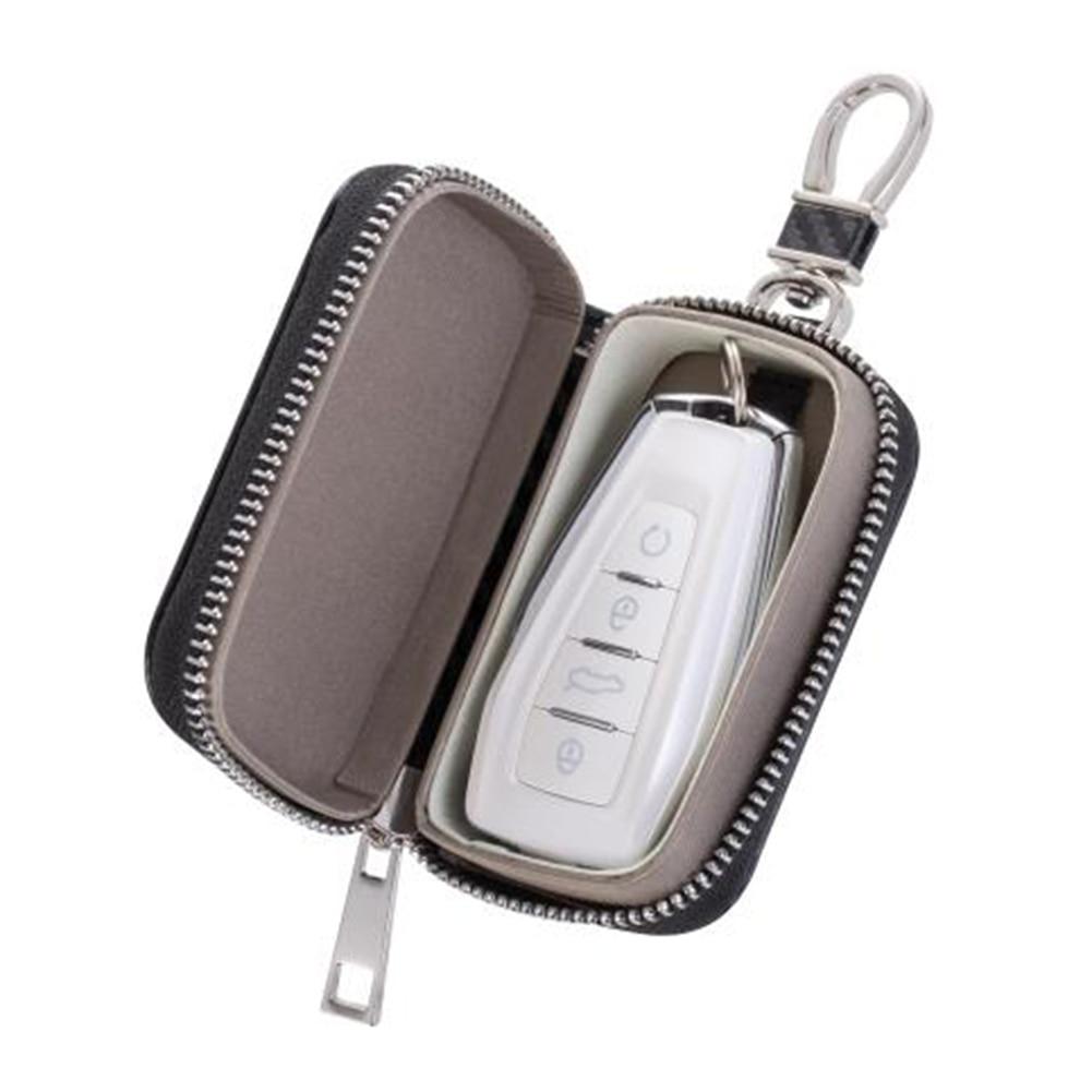 2021 брелок сумка Фарадея RFID сигнала Экранирование молния ключа автомобиля сигнала Экранирование коробка Портативный сигнала Экранирование...