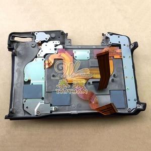 Image 2 - Nowy ekran dotykowy wyświetlacz LCD assy z tylną pokrywą i częściami do naprawy zawiasów LCD do lustrzanek Nikon D850