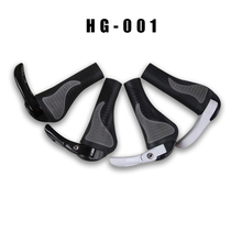 New 1 pair MTB Mountain/road Bike Bicycle lock-on alloy Rubber Handlebar Cover Handle grip Bar End bicycle grips for bicycle par special offer top carbon handlebar road cycling mountain mtb bike bicycle lock on handlebar cover handle bar end