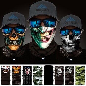 Wholesale Cycling Bandana Headband Skull Neck Tube King Kerosin Neck Buffs Guevara Face Mask Windproof Headband Joker Bike Scarf
