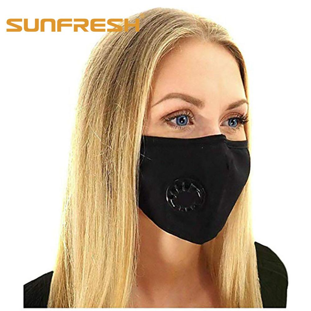 Air Pollution Dust Masks For Smoke Odors With N99 Filters Adjustable Ear Straps Reusable Cotton Respirator Face Black Mouth Mask