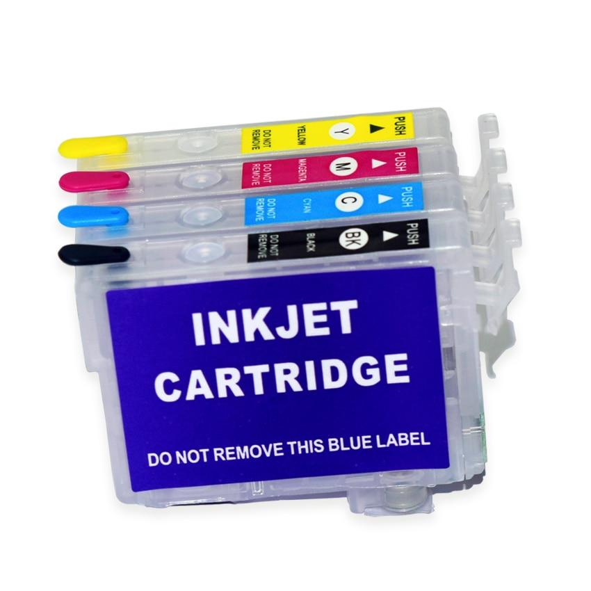 Europe T502 T502XL Refillable Ink Cartridge For Epson XP-5100 XP-5105 WF-2860 WF2865 XP 5100 5105 WF 2860 2865 Printer