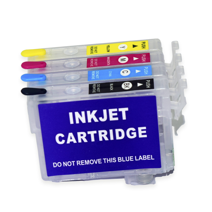 Europe T502 T502XL Refillable Ink Cartridge With Chip For Epson XP-5100 XP-5105 WF-2860 WF2865 XP 5100 5105 WF 2860 2865 Printer