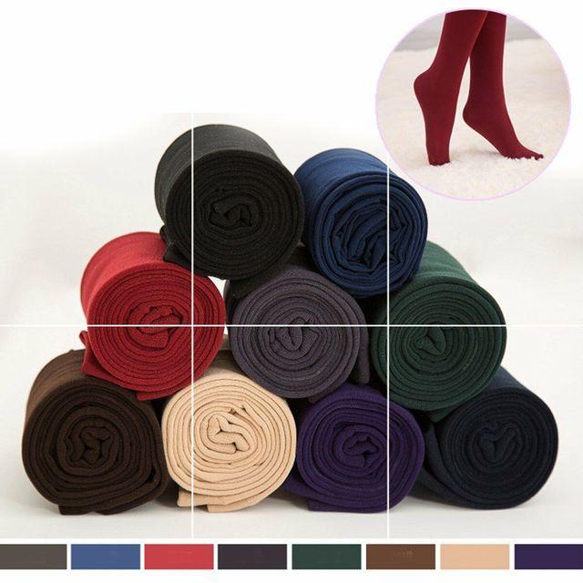 Velet Leggings for Women Thick Warm Stockings 6