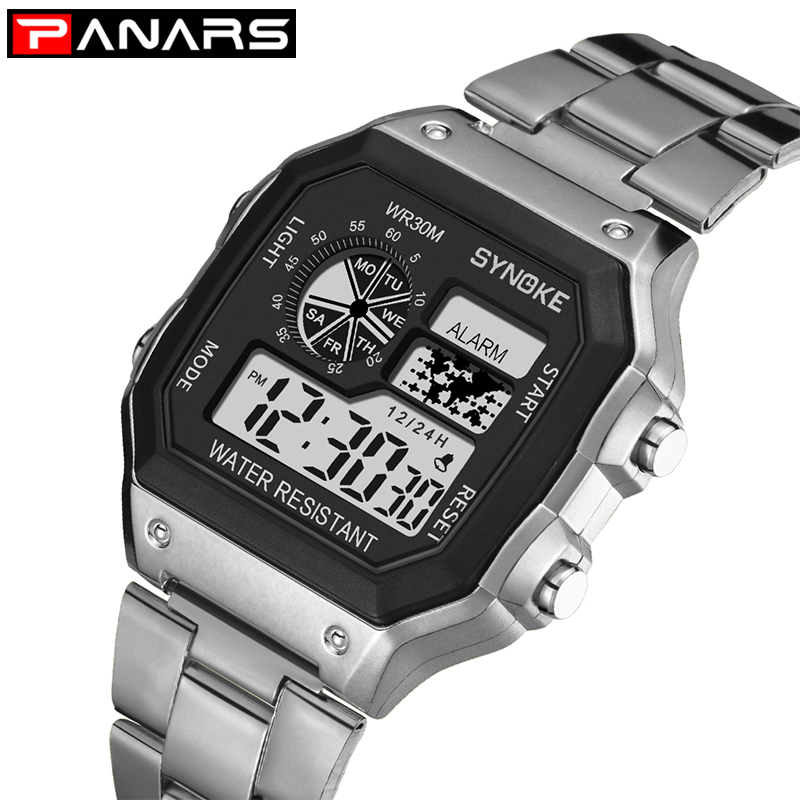 Student Sports Watch High School Student Boys And Girls Teen Watch Watches 50M Waterproof Metal Plastic Strap Montre Enfant