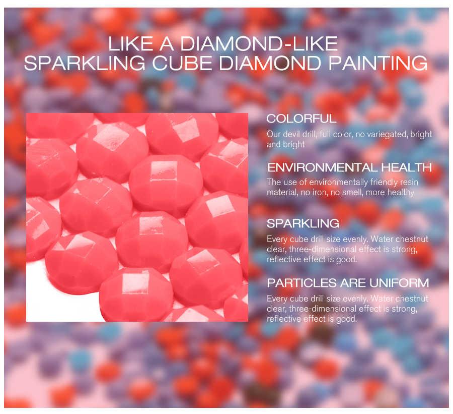 เต็มเจาะ DIY 5D ภาพวาดเพชรหน้ากากการ์ตูนรูปแบบตัวอักษรเย็บปักถักร้อยเพชรเต็มรูปแบบเพชรงานแต่งงาน Decor