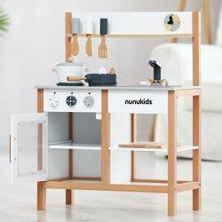 Dropshipping Simulation Europäischen Küche Holz Spielzeug Für Kinder Nordic Stil Küche Spielzeug Set Montessori Pädagogisches Geschenk