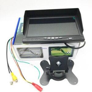 Image 5 - Full HD 1024*600 7 นิ้วกล้องวงจรปิดความปลอดภัยภายในบ้าน 1080P AHD 2 แยกหน้าจอ IPS Monitor DVR การเฝ้าระวังรถ IPS จอแสดงผล Recorder