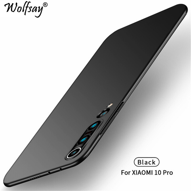 For Cover Xiaomi Mi Note 10 Lite Case For Mi 10 Note 10 9 8 Ultra Thin PC Armor Hard Back Phone Case For Xiaomi Mi Note 10 Lite