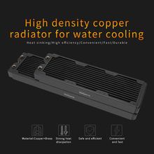 Barrow Copper Radiator 40mm Thickness 12 Circulating Waterways, Suitable For 120mm Fans, Dabel-40a 360/480