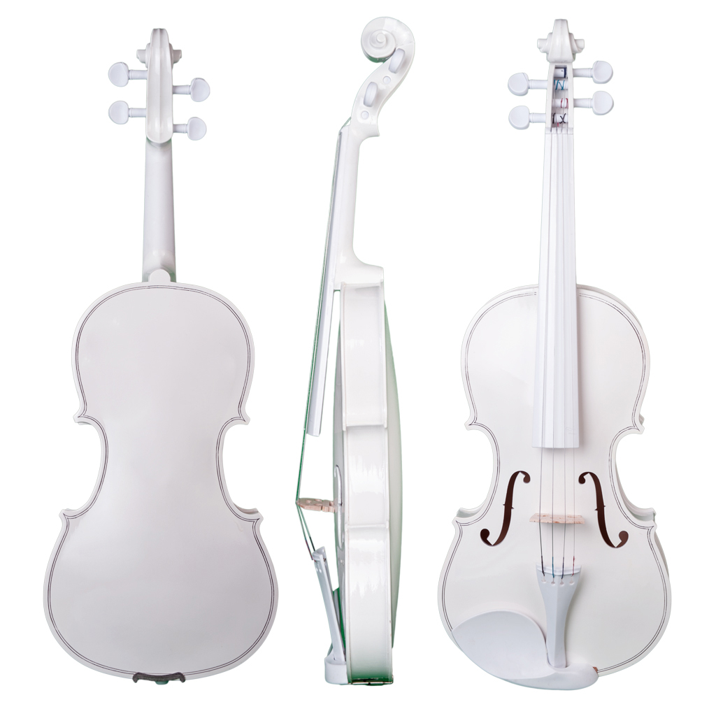 1 Pack 4/4 Size Wooden Violin Fiddle, with Case Bow Rosin - Beginners, Music Lovers Playing