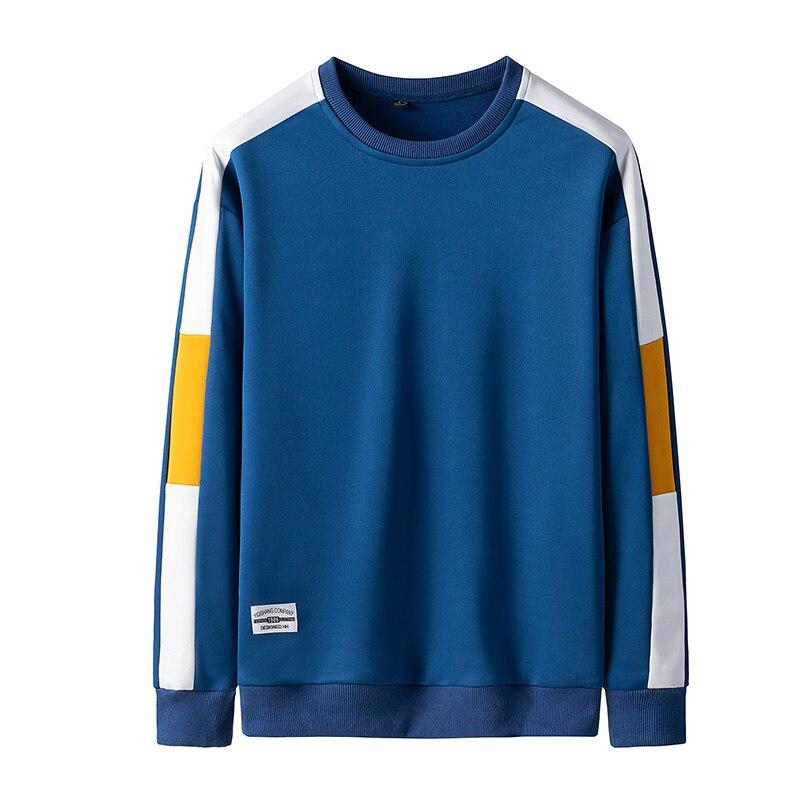 Sweatshirt Men Sportwear Long Sleeve Hoodie Men Casual Hip Hop Sweatshirt Streetwear Solid Men Hoodies 23