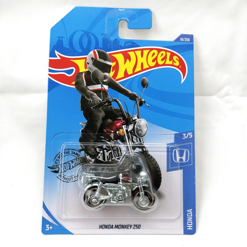 2020-10 Hot Wheels 1:64 Car HONDA MONKEY Z50 Collector Edition Metal Diecast Model Cars Kids Toys Gift