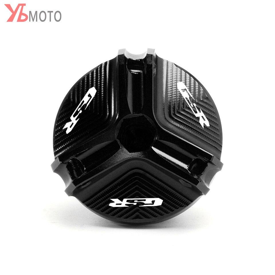 Oil Filler Cap FOR SUZUKI GSR 400 600 750 GSR400 GSR600 GSR750 Motorcycle Accessories Engine Oil Drain Plug Sump Nut Cup Cover