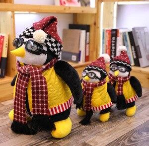 Image 3 - 46/26CM Joeys arkadaş HUGSY peluş penguen doldurulmuş hayvanlar oyuncak