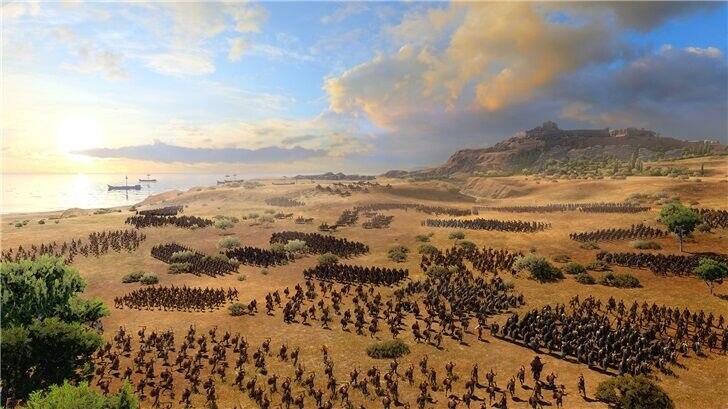 《全面战争传奇:特洛伊》8月13 日上线,Epic首日免费领