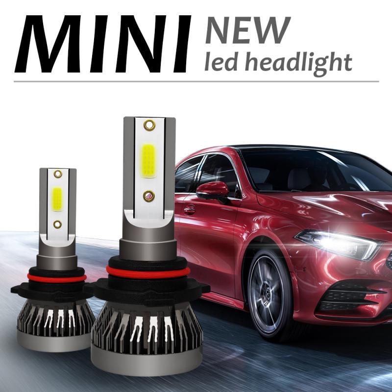 1pair H1 H4 H7 H11 Car <font><b>Led</b></font> <font><b>Headlight</b></font> 9006 9005 9003 HB2 HB3 HB4 <font><b>360</b></font> Degree Lighting Headlamp Conversion Kit COB Bulb 90W 12000 image
