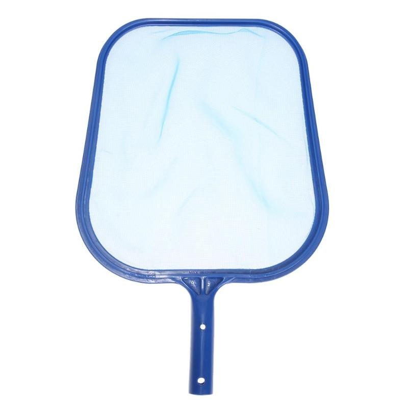 1pc Blue Pool Cleaning Net Professional Tool Grade Fine Mesh Pool Skimmer Leaf Catcher Bag Pool Swimming Cleaners Accessories