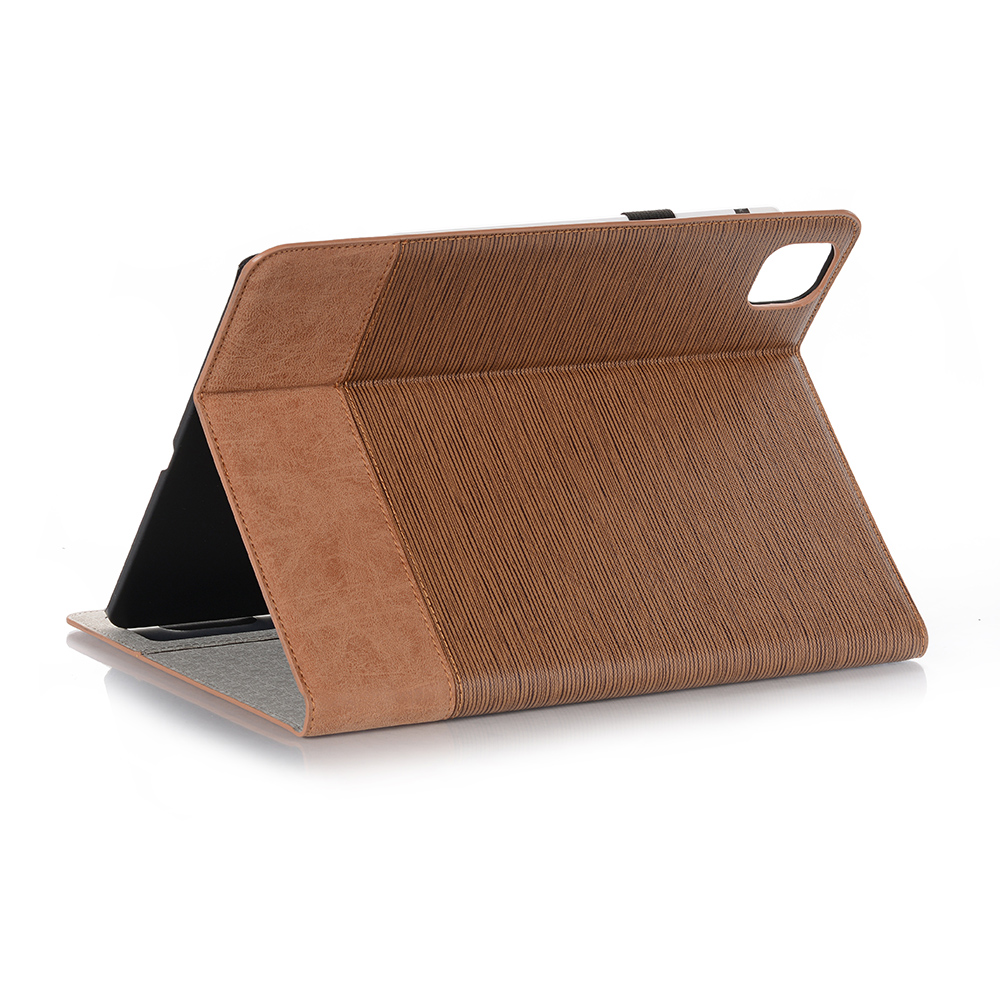PU Back iPad For iPad Series 9 Tablet Cover Business Brown 12 2020 Pro For 2020 Pro Case