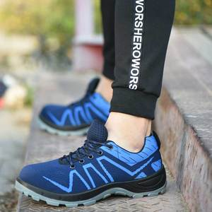 Image 4 - SUADEEX 생존 안전 신발 철강 발가락 철강 스 니 커 즈 Anti slip Anti smashing 작업 남자 작업 부츠 편안한 산업 신발