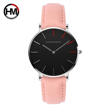 Hannah Martin Business Quartz Women Watches Luxury Brand Fashion Life Waterproof Ladies Watch Gifts for Women Clock Reloj Mujer fashion women watches luxury genuine leather watch women wrist waterproof quartz watch for women 2021 ladies watch reloj mujer