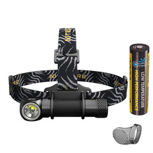 NITECORE HC33 Headlight XHP35 HD LED max 1800 lumen outdoor sports head lamp beam throw 187 meter 8 working modes head light