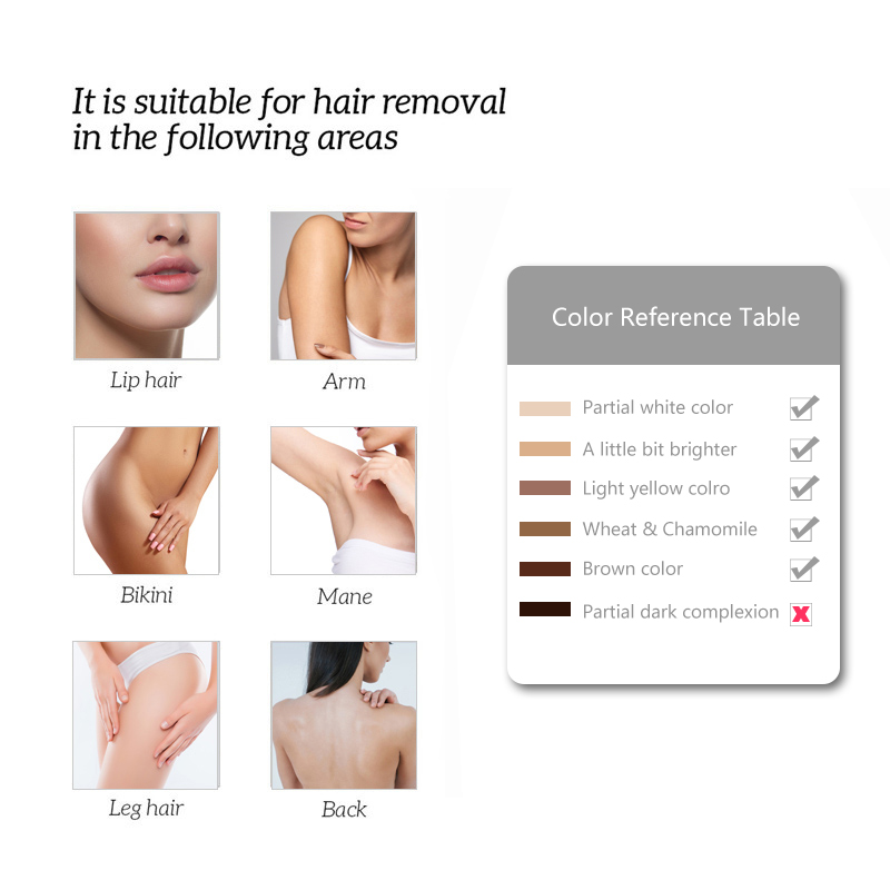 Image 4 - 500000 Pulsed IPL Permanent laser Hair Removal lazer epilasyon laser Epilator for women men facial Armpit Bikini Beard Legs-in Epilators from Home Appliances