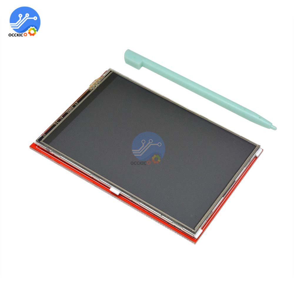 3.5 TFT LCD Screen Module 480x320 for Arduino UNO /& MEGA 2560 Board Color : 1*LCD Screen with Touch Panel Display Module