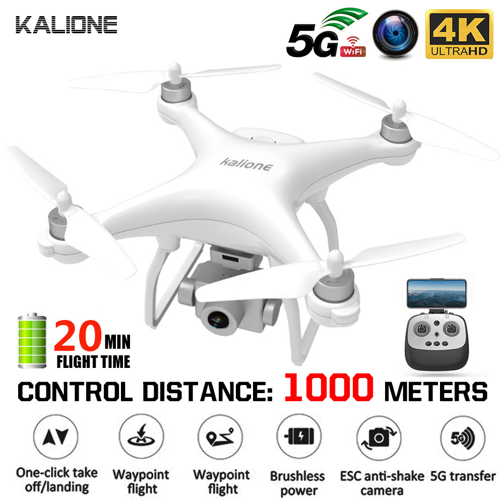 KALIONE K777 GPS Drone 4K Gimbal Camera 1000m 5G WIFI FPV Brushless Helicopter SD Card Professional RC Quadcopter 30Mins VS X35(China)