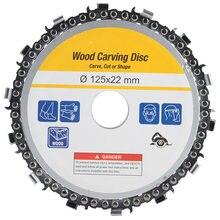 5 дюймов цепная дробилка цепных пил диск деревообрабатывающий