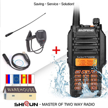 Baofeng UV 9R Akoestische Headset IP67 Waterdicht Vhf 136 174/400 520Mhz Ham Radio 10 Km Baofeng 8W Walkie Talkie 10 Km Uv 9R