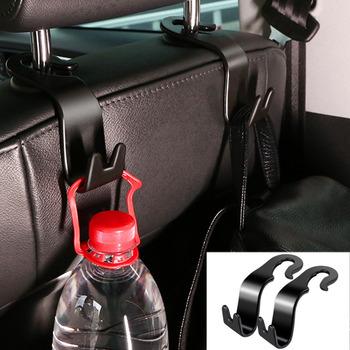 For Jeep Compass 2017 2018 2019 Car Seat Back Hook Car Headrest Crook Luggage Rack Luggage Catch Cargo Storage Box Clasp