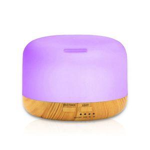 7 LED cor Clara 300ML Ultrasonic Aromatherapy Difusor de Óleo Essencial Umidificador de Ar para Casa Aroma Difusor Névoa Criador Fogger