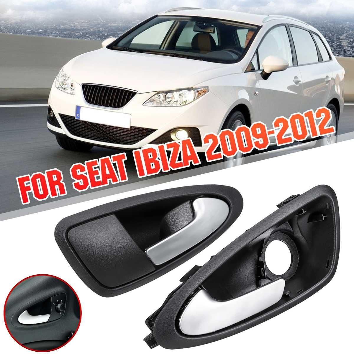 Links Rechts Auto Inner Binnendeur Handvat Handvatten Open Matte 6J0837114A Voor Seat Ibiza 2009 2010 2011 2012