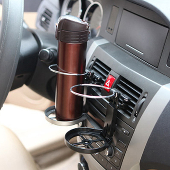 Car Air Outlet Water Cup Holder With Small Fan Car Drink Holder for Hyundai ix35 iX45 iX25 i20 i30 Sonata,Verna,Solaris,Elantra, image