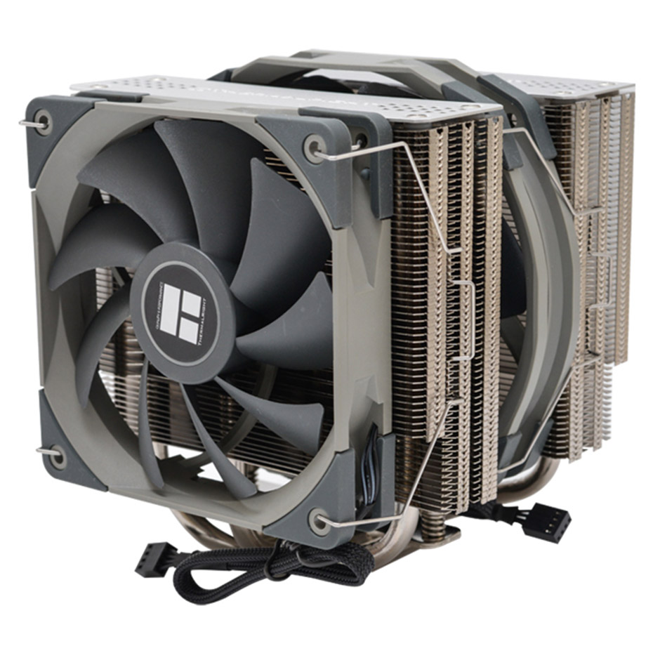 Thermalright FS140 Dual Tower CPU Cooler radiator With <font><b>140mm</b></font> PWM <font><b>fan</b></font> 4PIN <font><b>RGB</b></font> For intel 115x 2011 2066 AM4 Computer CPU Cooling image