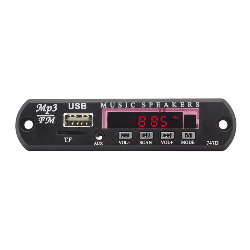Decoder-Board Audio-Amplifier Subwoofer-Decoder Remote-Control MP3 Bluetooth Music Car