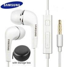 Samsung original fone de ouvido ehs64 com fio 3.5mm na orelha com microfone para samsung galaxy s8 s8edge huawei smartphone